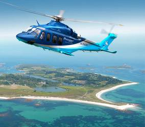 New Skybus helicopter